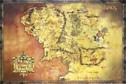 Middle Earth Poster