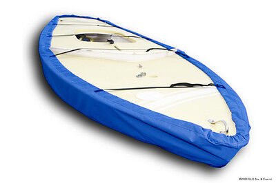Sunfish Sailboat - SLO Sail and Canvas Boat Hull Bottom Cover - Blue Sunbrella