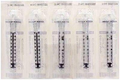 Bd 1ml Syringe Luer-lok Sterile 5pk 309628