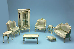 dolls house quality living room furniture drop down list