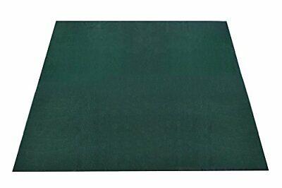 3x3m Rubber Mesh Mat Rug for Non-Slip Grass Tent/Gazebo Flooring Turf Protection