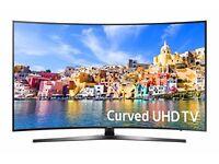 """Samsung 49"""" Curved 4K Smart TV"""
