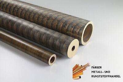 Bronze Rotguss RG7  Rohr Rundrohr D. 31 / 19 mm  100mm Lang Rundstange Buchse