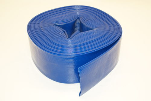 """Baron Tools Industrial Water Pump PVC Discharge Hose - 3"""" X 20 Feet"""