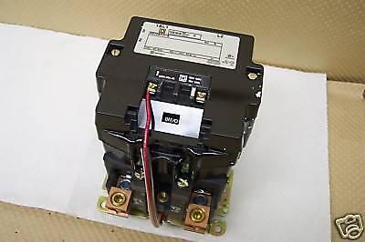 SQUARE D  8502SFO1V02S CONTACTOR 135A 600VAC NEW