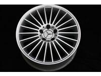 "MERCEDES 18"" GENUINE original refurbished Alloy Wheel"