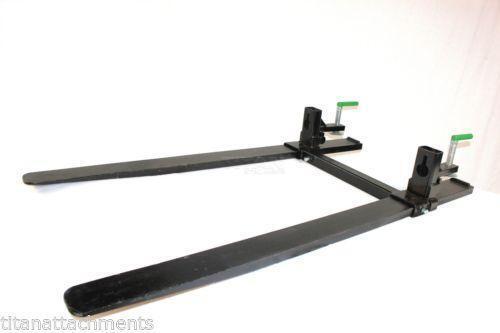 Tractor Bucket Fork Stabilizer Bar : Tractor forks ebay
