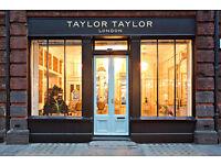 Free creative haircuts at award winning salon Taylor Taylor