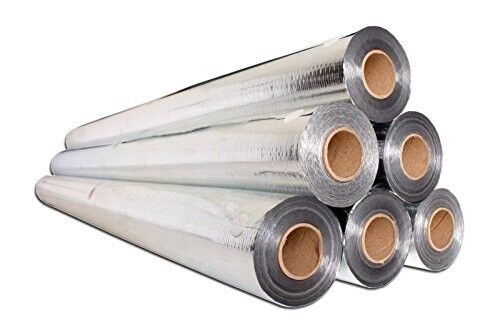 Perforated Radiant Barrier Reflective Foil Insulation 500 Sq Ft (1 Roll)