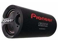 pioneer GMD8601 1600w plus pioneer car suwoofer 1300 w bas tube 12''