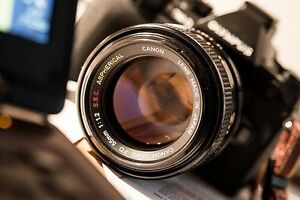 Canon 55mm f1.2 Aspherical