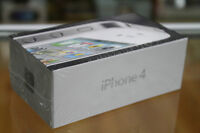 New black iphone 4 with telus sealed in box