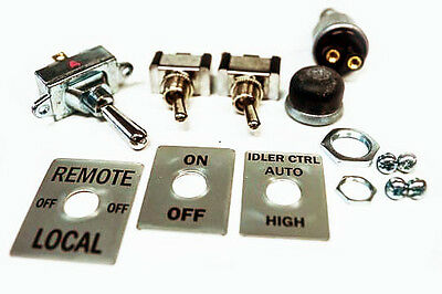 Lincoln Welder Sa-200 Cole Hersee Switch Switch Plate Set Bw613-k-satin