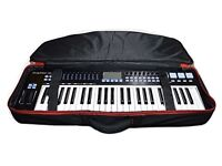 Nicsound Professional Electric Piano 49 Key Keyboard Case. Oxford Cloth with Shoulder Straps