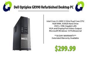 Dell Optiplex GX990 Refurbished - 360 Computers