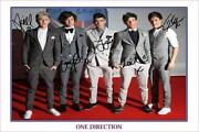 One Direction Poster Signed