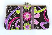 Vera Bradley Purple Punch Wallet