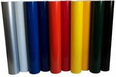 Vinyl Rolls Film Material Self Adhesive Backed Sign Colors Package 10 24 10yd