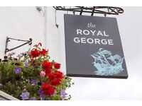 Part Time Bar Staff Wanted @ The Royal George in Thornbury