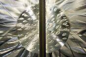 Silver Modern Metal Abstract Wall Art Sculpture Home Decor Static by Jon Allen