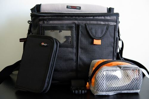 LOWEPRO STEALTH REPORTER D200AW CAMERA BAG