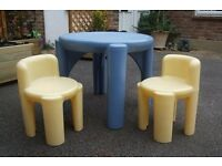 Little Tikes table & Chairs