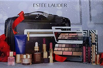 Estee Lauder HOLIDAY BLOCKBUSTER Makeup Kit Gift Set - SMOKY NOIR - NEW 2016