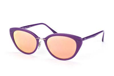NEW Genuine Ray Ban RB4250 60342Y 52 Shiny Violet Womens Sunglasses (Ray Ban Glasses Sunglasses)