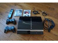 Playstation 3 with Controllers, Remote & Games Bundle