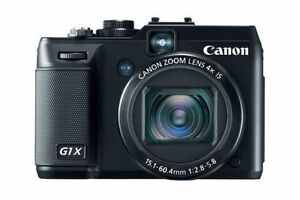Canon PowerShot G1 X 14.3 MP Digital Camera - Black