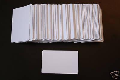 Rfid Proximity 125 Khz Inkjet Pvc Blank Id Cards Epson Dye Pigment - Lot Of 25