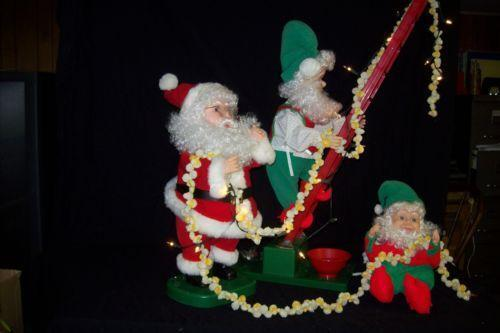 christmas store display ebay - Christmas Animatronics