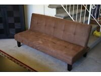 FREE brown fabric futon
