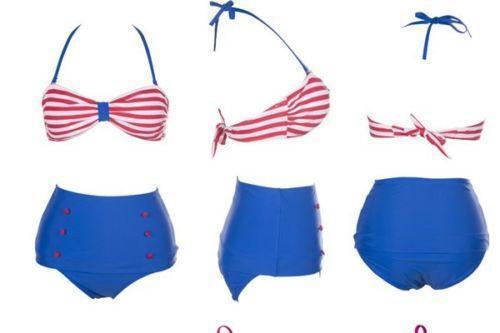 7fbe0b300902d High Waisted Bikini  Swimwear