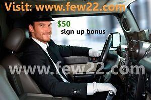 Wanna drive with us? $50 sign up bonus