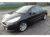 PEUGEOT 207 SPORT PETROL CONVERTIBLE MANUAL 2 DOOR £26 PER WEEK