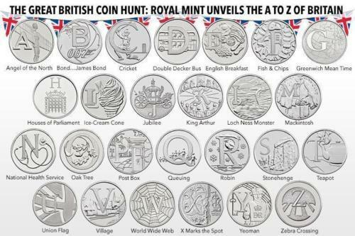 2018 Alphabet A-Z 10p Pence Coins Choose Uncirculated Letter - Bond etc + Medal