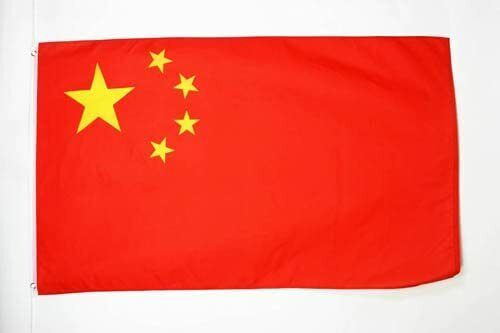 3x5 Feet Chinese Flag - Vivid Color and UV Fade Resistant - Canvas Header
