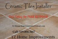 Premium Quality Ceramic and Porcelain Tiles Installations ......