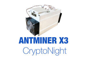 Bitmain Antminer X3 - CryptoNight ASIC miner with PSU