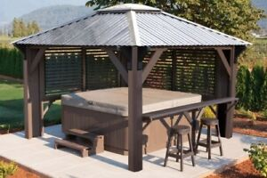 Gazebos at Jacuzzi Vaughan