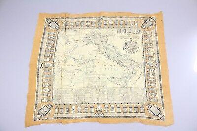 Tuch Karte Landkarte Italien