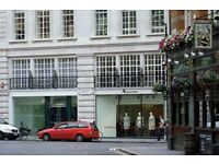 Glasshouse Street (W1 - Soho) Private Office to rent - Flexible terms, Optional furniture