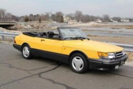Looking for Yellow Saab Convertible with private reg P12OTH