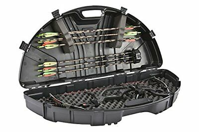 Bow Case Hard Guard Archery Hunting Carrier Arrow Holder Foam Holding Straps 43