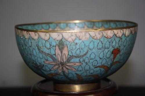 Chinese Enamel Bowl Ebay