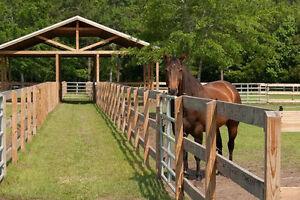 Horse Facility Rental / Horse Boarding