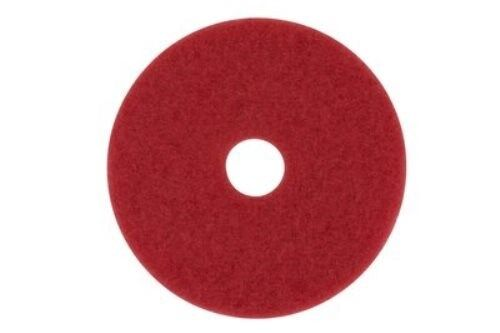 """3M 08395 5100 20"""" Red Floor Cleaning Pads,5/cs"""