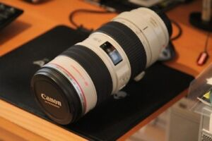 canon 70 200 2.8 L IS telephoto lens