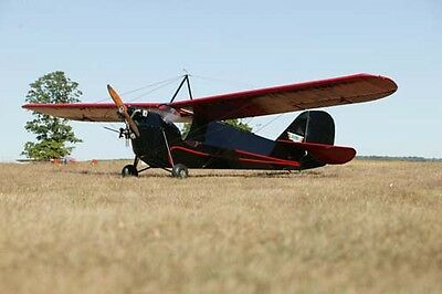Giant 1/5 Scale Aeronca C-3 Plans and Templates
